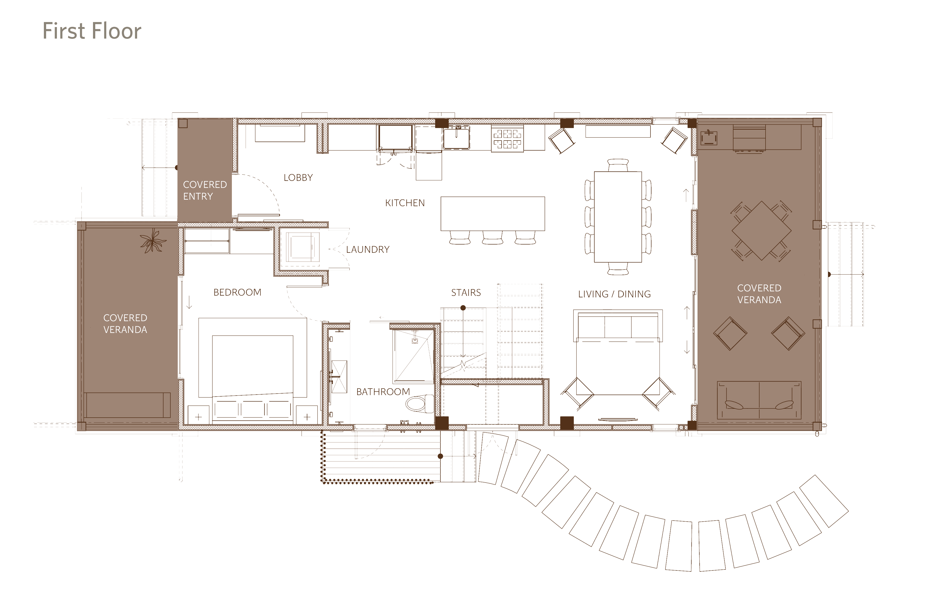 Beach Villa Floor Plan - 3BR - 1st floor (1)