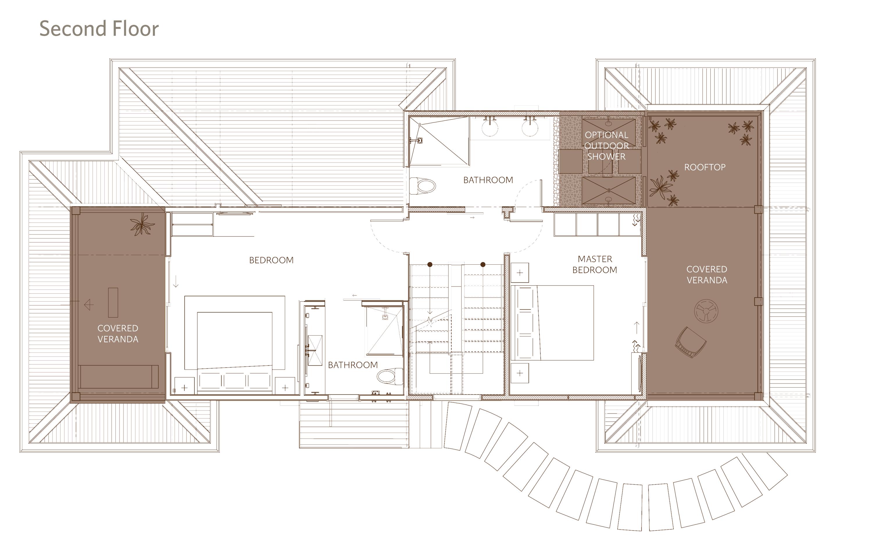 Beach Villa Floor Plan - 3BR - 2nd floor (1)