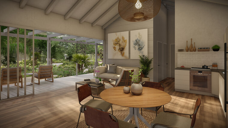 Interior View - Bungalows at Orchid Bay #1-4 (1)